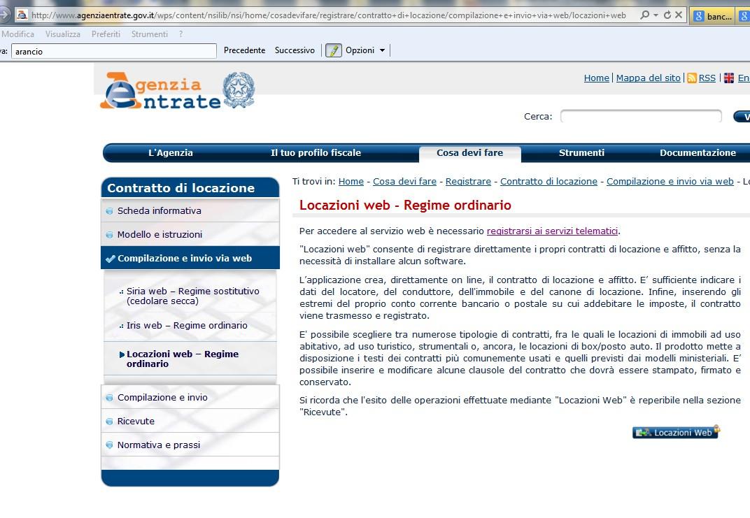 Come fare per fare o recedere online un contratto di for Contratto di locazione
