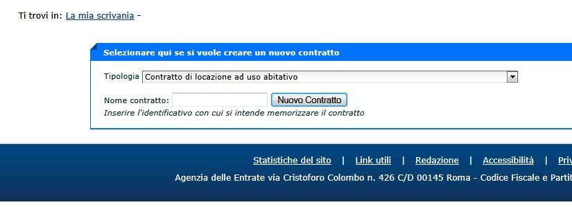 Come fare per fare o recedere online un contratto di for Contratto di locazione arredato