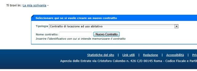 Nuovo contratto di locazione (2)