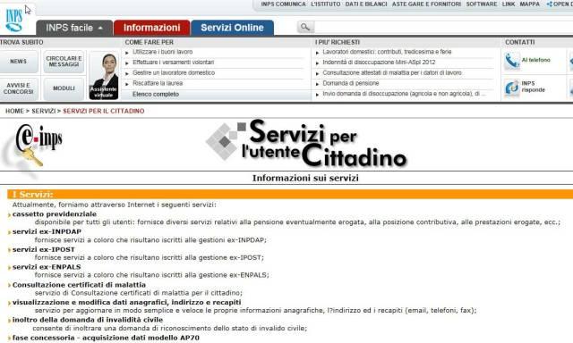 Servizi per il cittadino????