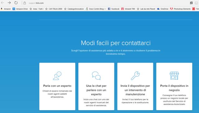 Contatti in caso di problemi con i prodotti Microsoft