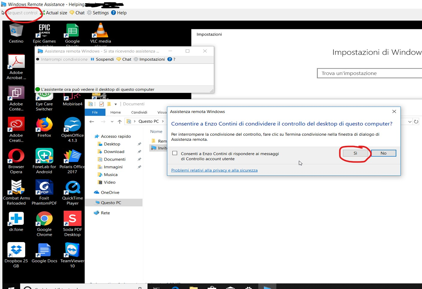 Remote assistance in Windows 10 | Enzo Contini Blog