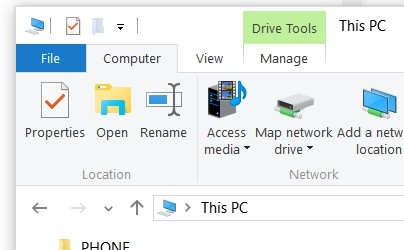 how to create i cloud as drive in windows