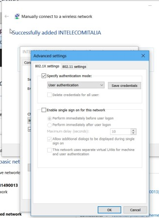 Manually connect to a wireless network (6)