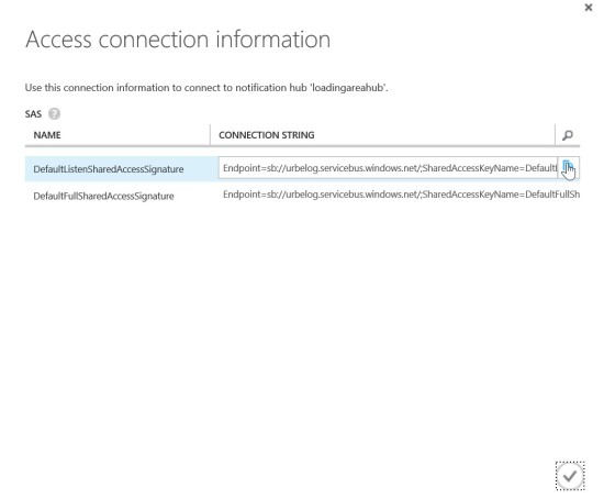 Access Connection Information