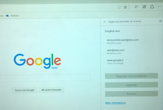 Google searcher is now listed after having visited www.google.com