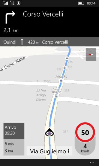 Maps: navigation