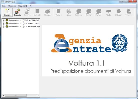 Volture 1.1 - Tutte le icone del menu risultano visibili dopo la personalizzazione del carattere di sistema