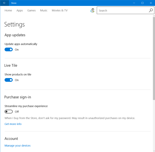 force app update check in windows 10 4