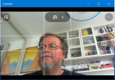 Camera app with Microsoft LiveCam HD-5000