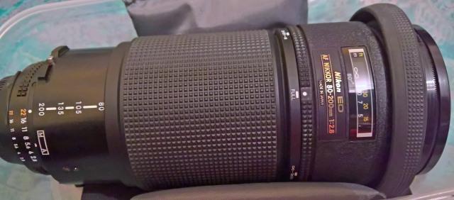 Nikon ED 80-200 f2,8