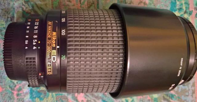 Nikon ED 70-200