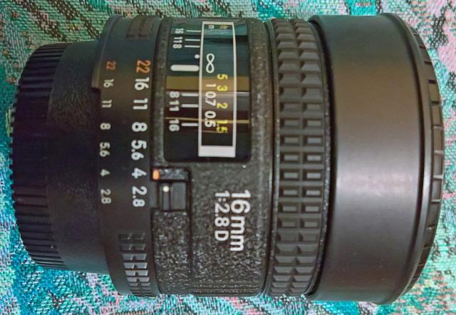 Nikon 16mm