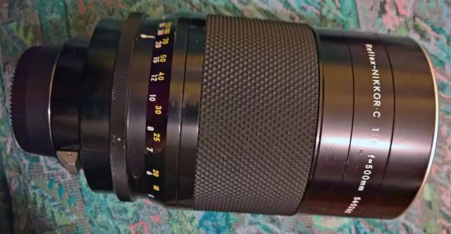 Nikon 500mm (catadiottico)