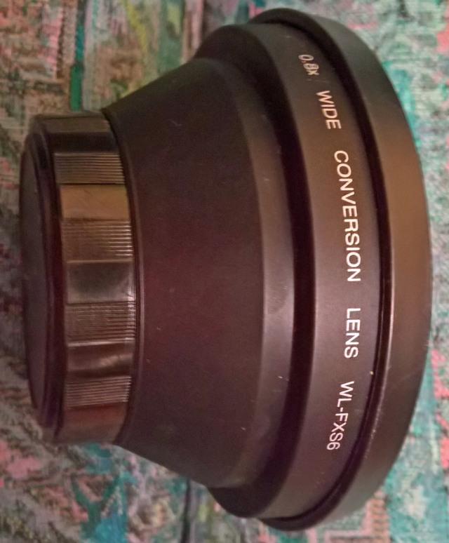 Fuji - Wide Conversion lens WL-FXS6