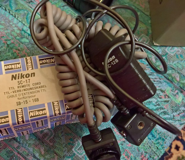 Nikon - TTL Remote cord SB-15
