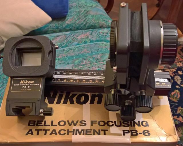 Nikon PB-6 e PS-6