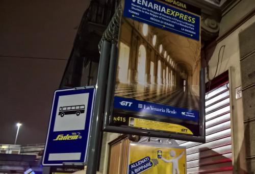 <strong>Torino Madonna di Campagna - Fermata 415 </strong> - via Stradella angolo C.so Grosseto - direzione <em>Caselle Aeroporto</em>