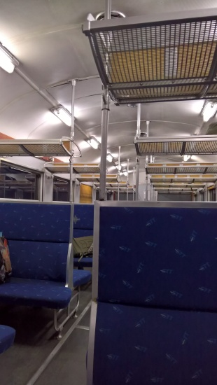 Vagone del treno Torino - Ceres
