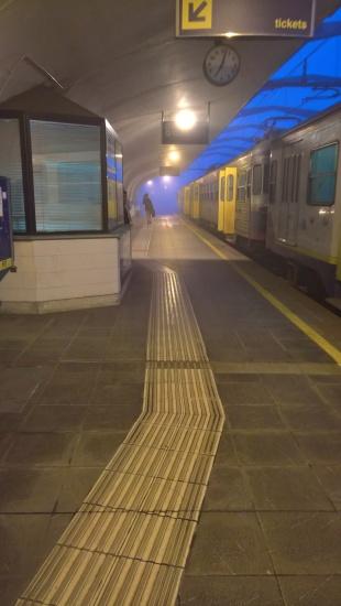 Stazione di Caselle Aeroporto (ore <em>7:05</em>)