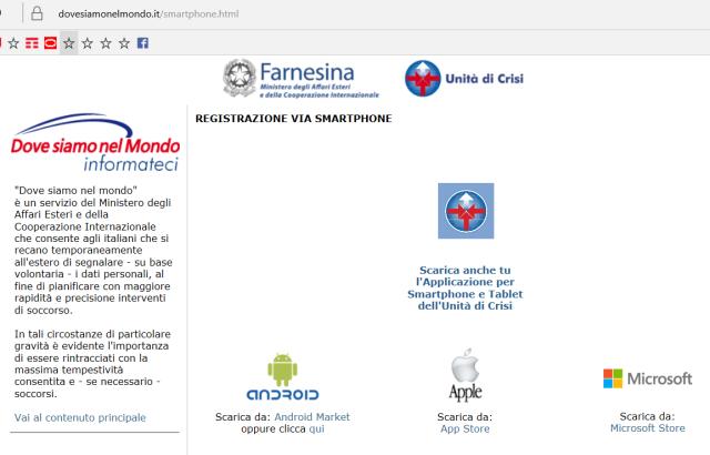 Dovrebbero essere disponibili app per smartphone/tablet per sistemi Android, Apple e Microsoft