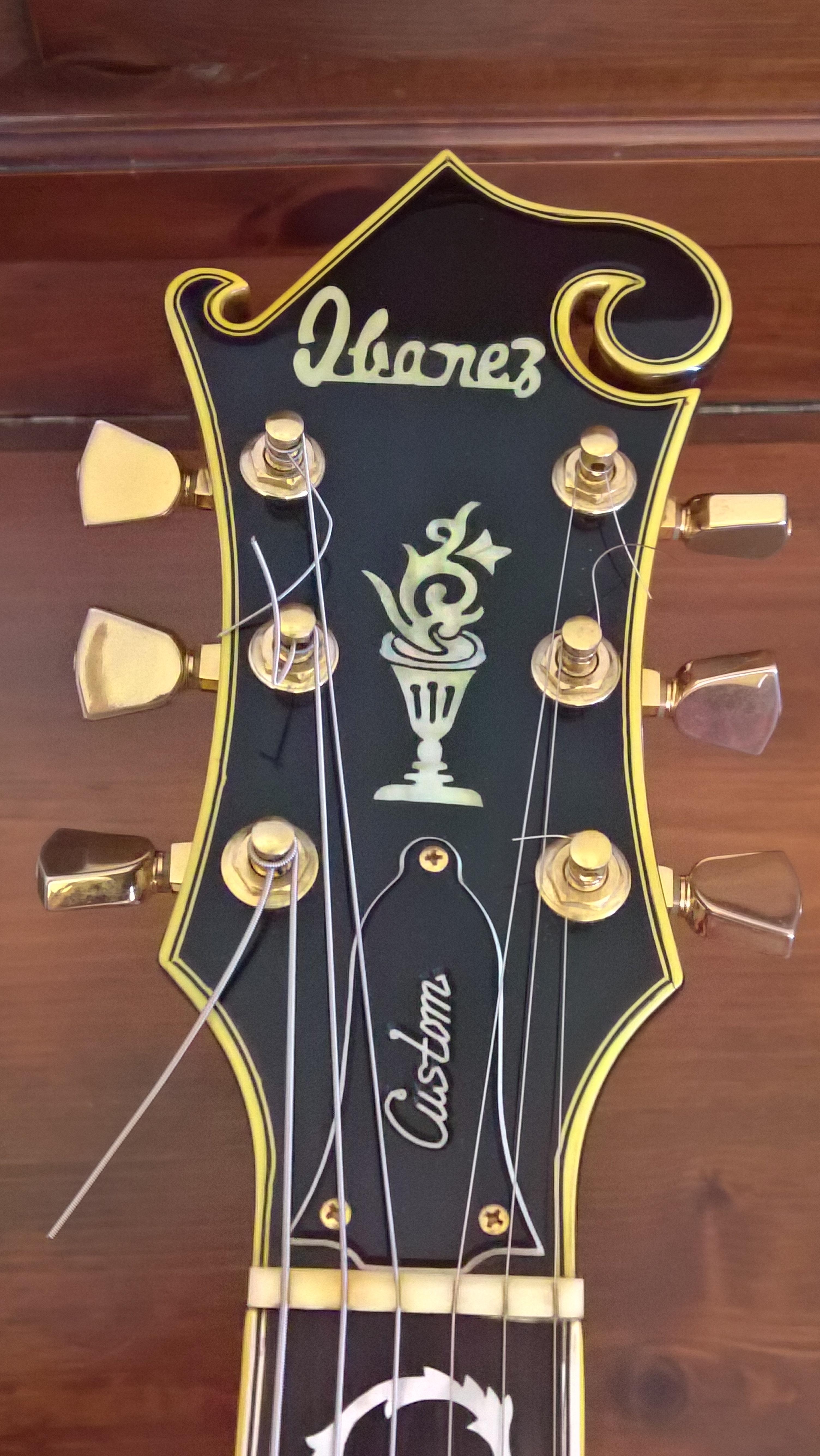 Ibanez Custom Agent – model 2405 (sunburst) | Enzo Contini Blog