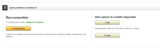 Come contattare telefonicamente o via chat un assistente Amazon (5)