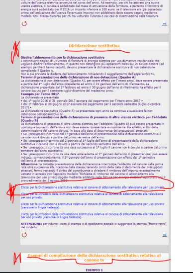 Scaricare la dichiarazione sostitutiva per cessare canone RAI (3)