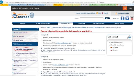 Come inoltrare la dichiarazione con la procedura informatica (4)