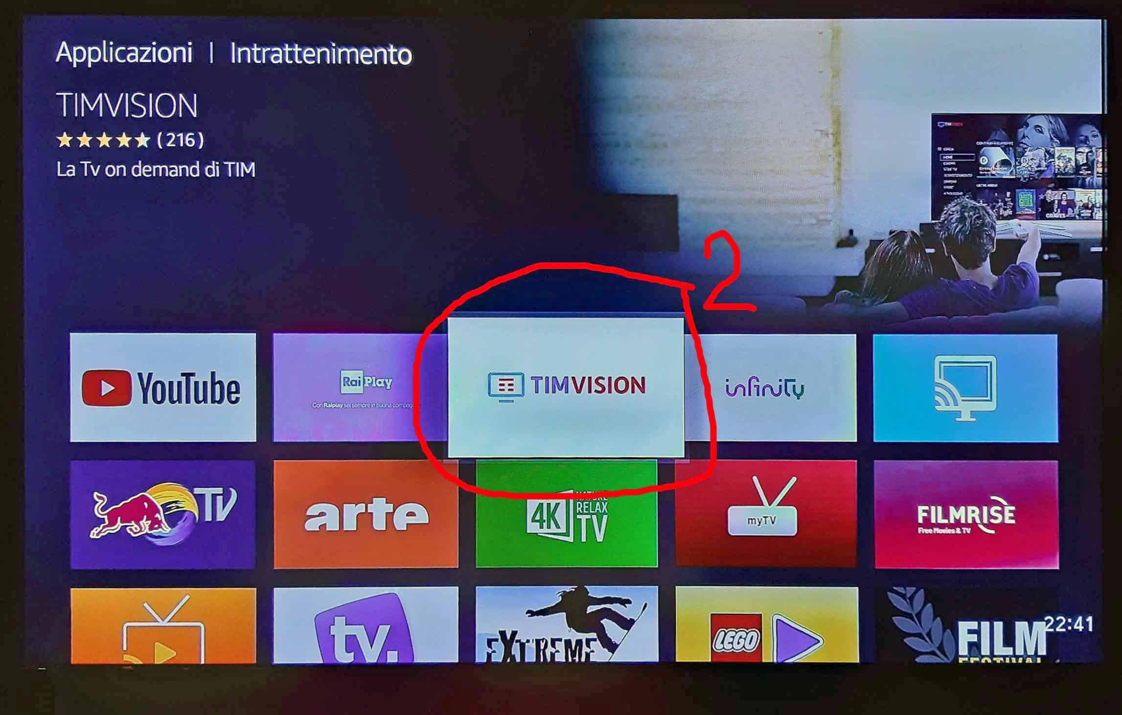 SCARICARE TIMVISION SU SMART TV PHILIPS
