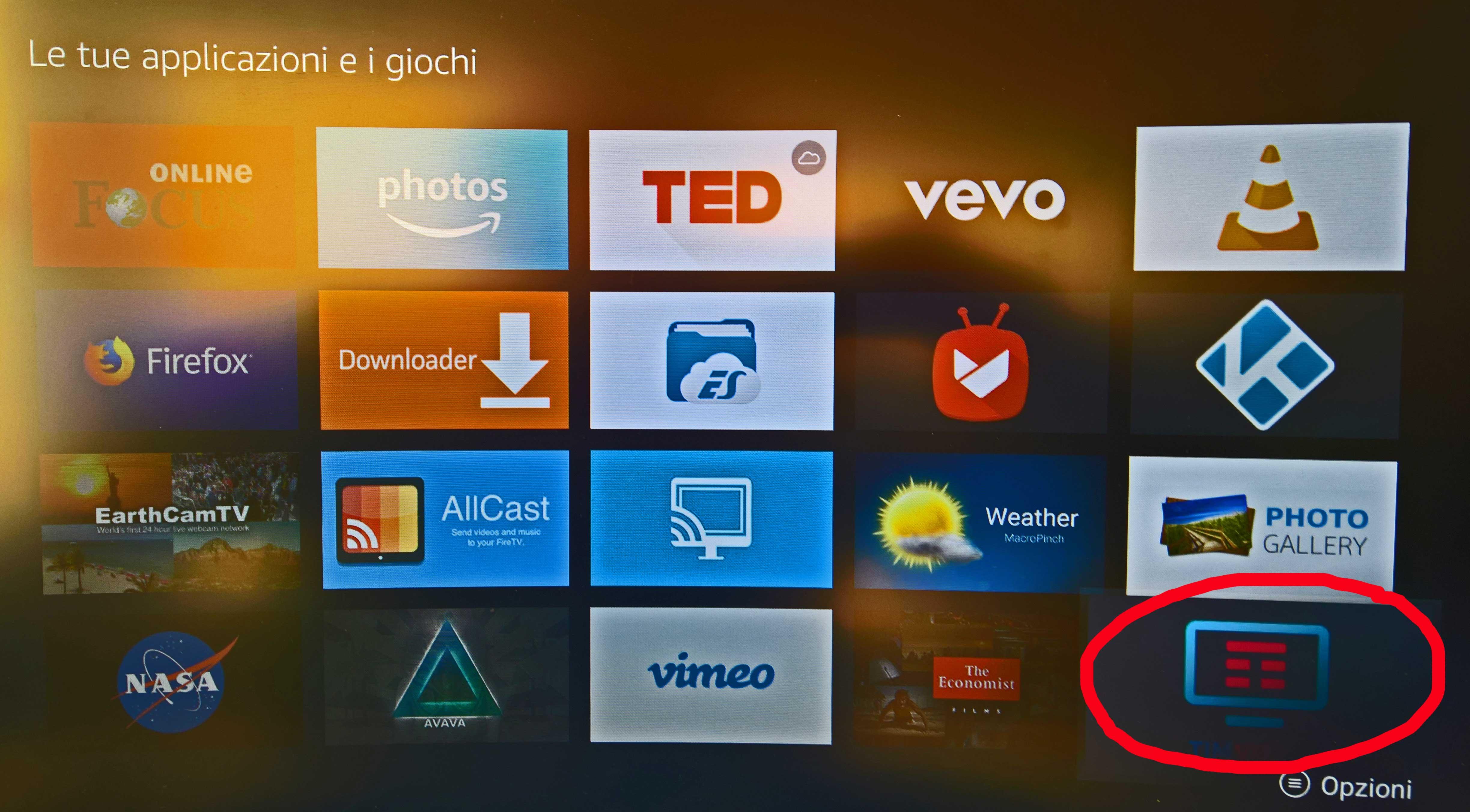 app timvision per smart tv