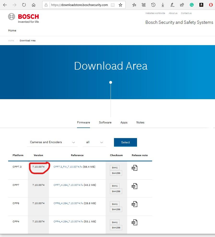 Testing a Bosch IP camera (DINION IP 5000i IR) | Enzo