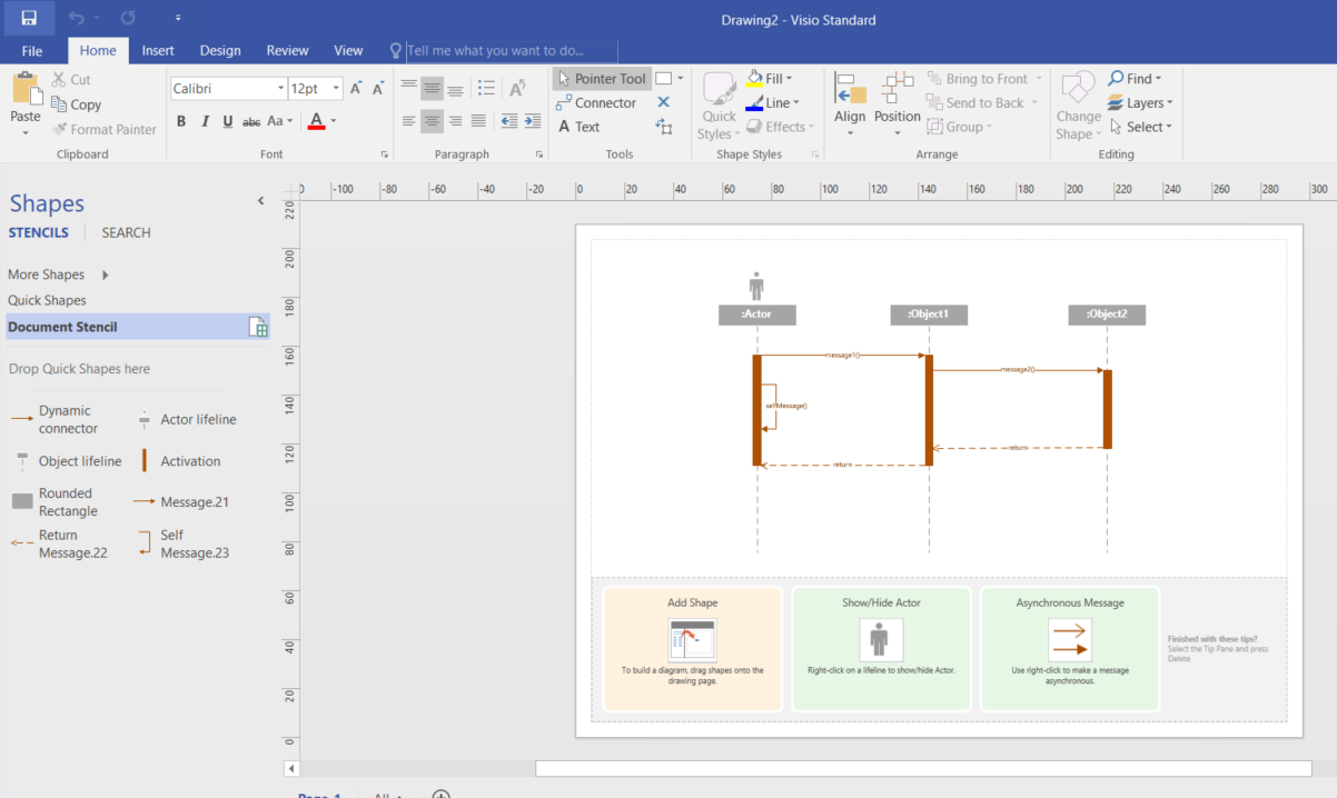 Drawing Uml 25 Diagrams With Visio 2016 Even The Standard Statechart Free Examples And Software Download Basic Are Now Available After Opening That File From More Shapes My Favorites Section
