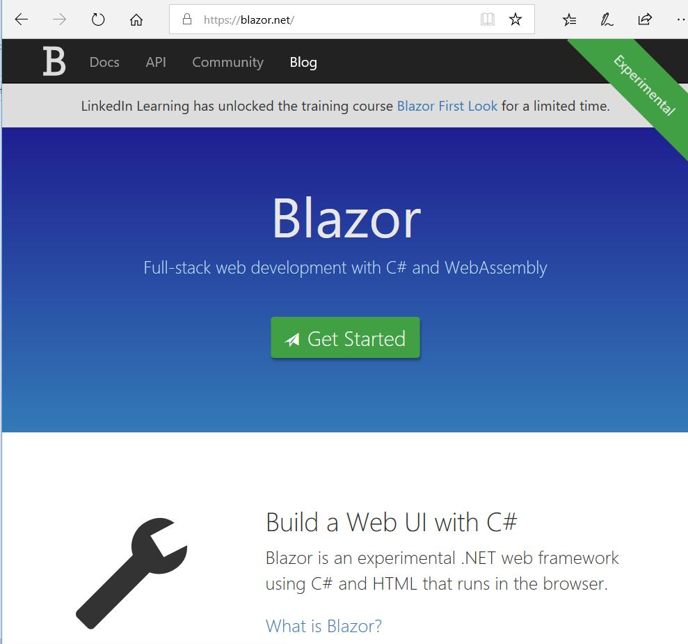Angular, React, Vue or … BLAZOR? How to build a Web UI with