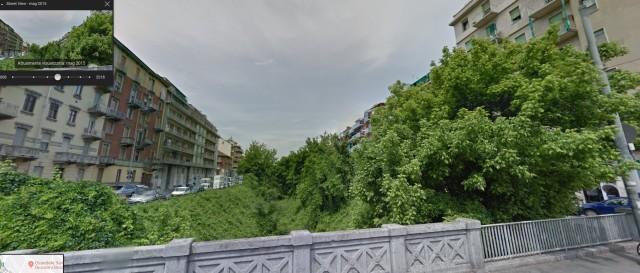 Maggio 2015 - Visione dal lato sx del ponte di c.so Giulio Cesare